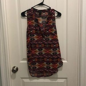 Wet seal Aztec dress top- fits like a small